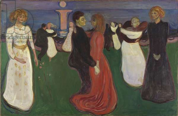 Dance of Life, 1899-1900 (oil on canvas)
