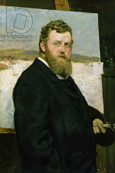 Frits Thaulow, 1881 (oil on canvas)