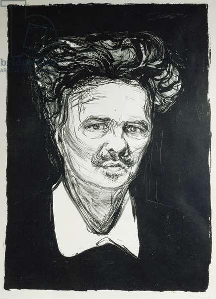 August Strindberg (litho)