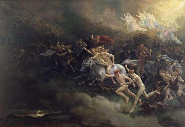 Dead Souls, 1866 (oil on canvas)