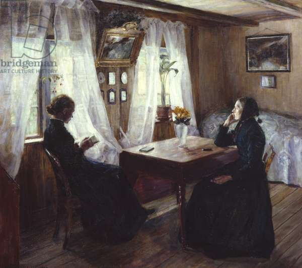 Sunday in the Country, 1889 (oil on canvas)