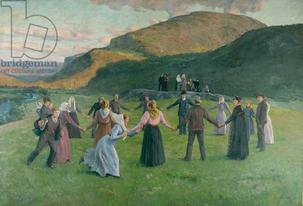 Youth Party in Eggedal, 1895 (oil on canvas)