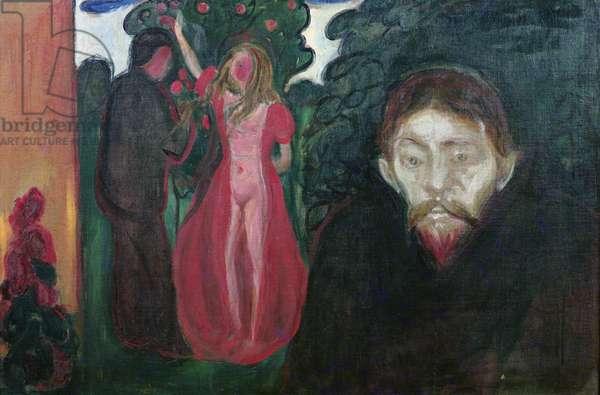 Jealousy, 1890 (oil on canvas)