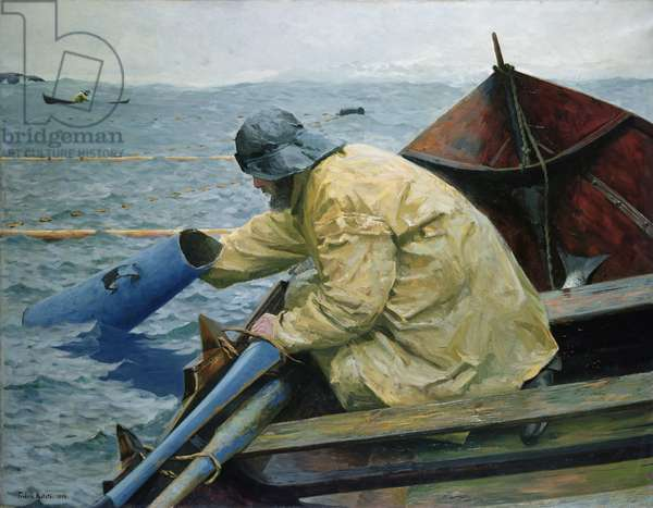 Out by the Salmon Seine, 1892 (oil on canvas)