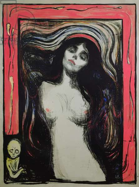 Madonna, 1895 (colour litho)