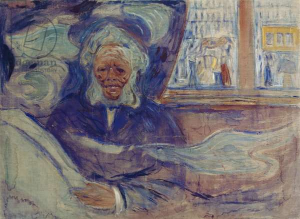 Ibsen at Grand Cafe, 1909-10 (oil on canvas)