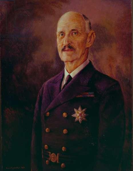 King Haakon VII (oil on canvas)
