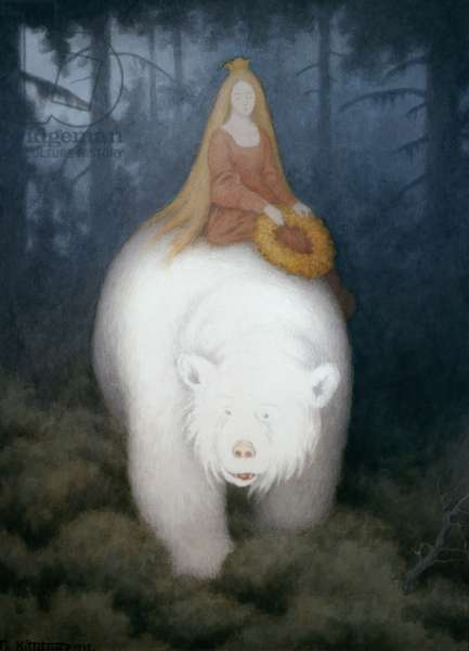 White Bear King Valemon, 1912 (w/c on paper)