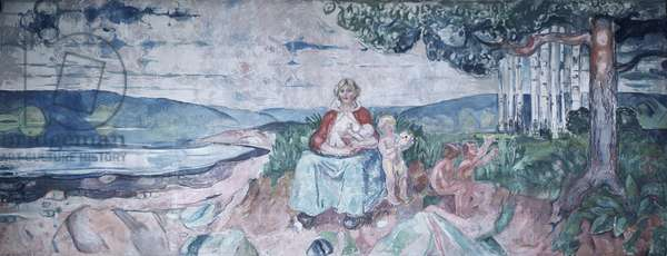 Alma Mater, 1916 (oil on canvas)