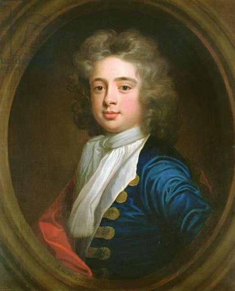 Colonel John Blathwayt, aged 12, 1702 (oil on panel)