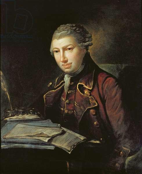 Charles Frederick Abel (oil on panel)