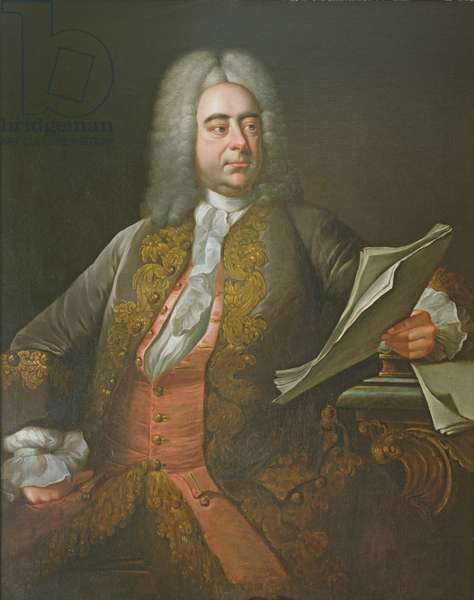 Portrait of George Frederick Handel (oil on canvas)