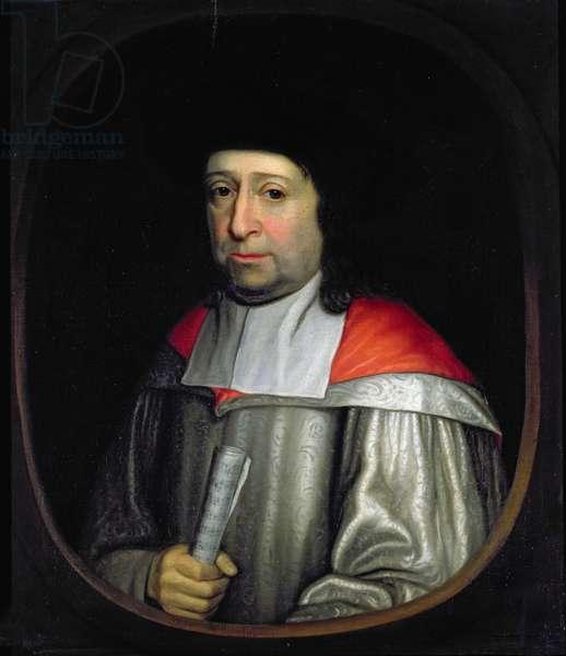 Christopher Gibbons (oil on panel)