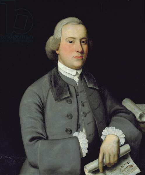 Philip Hayes, 1788 (oil on canvas)