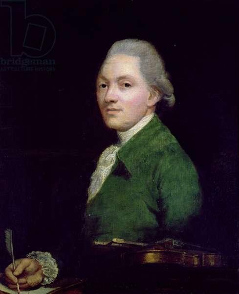 Johann Peter Salomon, 1784 (oil on panel)