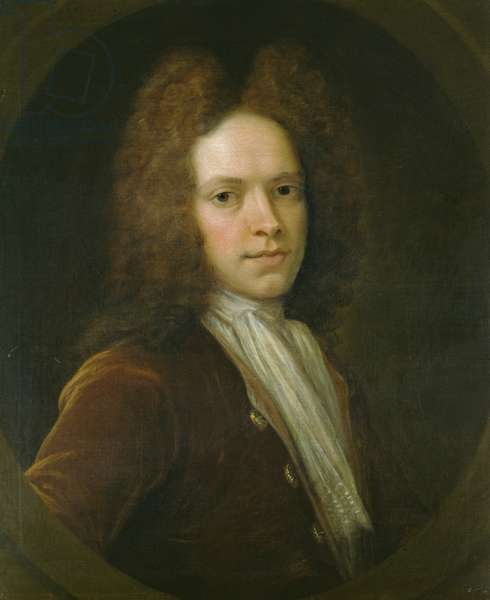 John Christopher Pepusch (oil on panel)