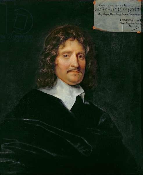Henry Lawes (oil on panel)