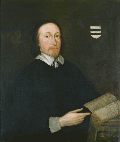 John Hilton (oil on panel)