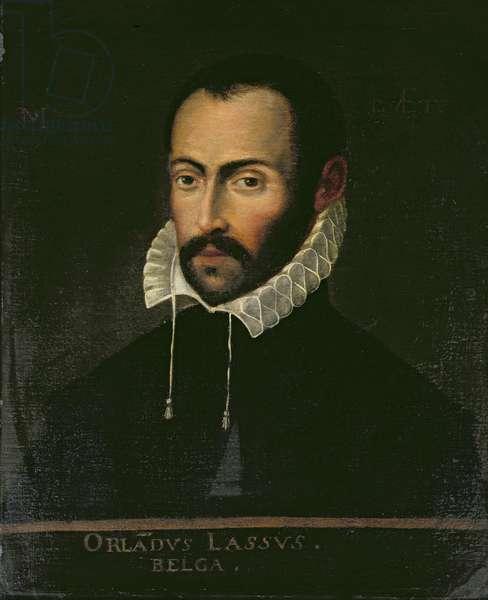 Orlando Lassus (oil on panel)