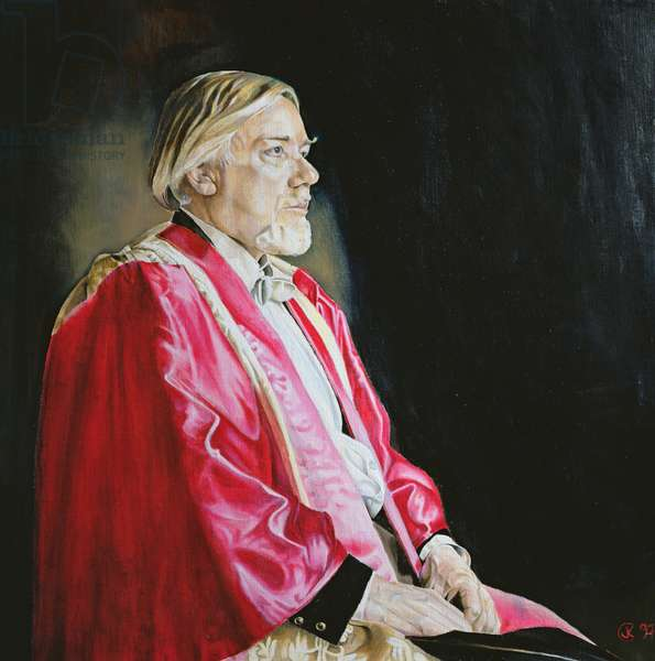 Robert Sherlaw Johnson, 1997 (oil on canvas)