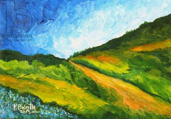 Vers Marmelade, 2015 (acrylic on canvas)