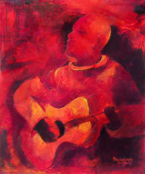 Musical Ambiance, 2009, (acrylic on canvas)