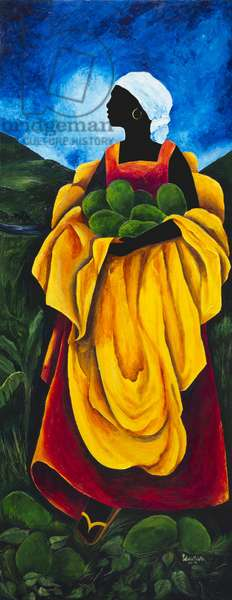 Season Avocado, 2011, (acrylic on canvas)