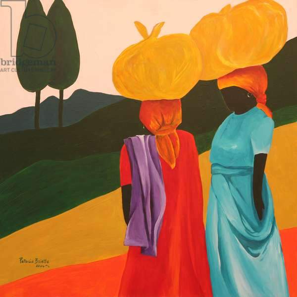 Friendly Encounter, 2006 (acrylic on canvas)