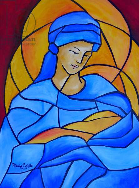 Maria full of grace, 2005 (acrylic on canvas)