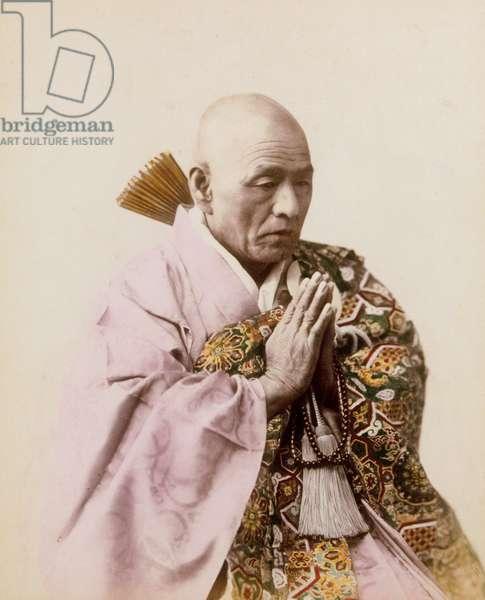 Buddhist Priest, 1885-1900
