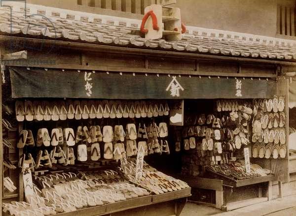 Wooden Shoe Store, 1890's
