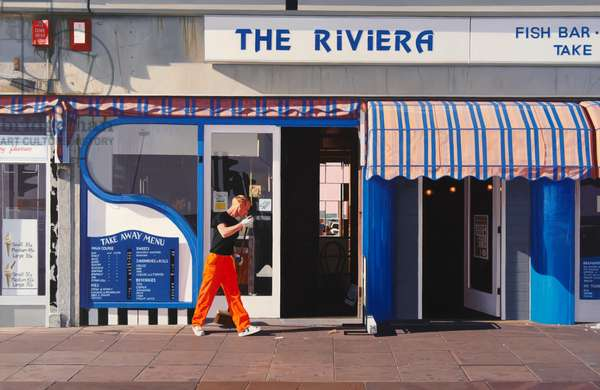 The Riviera, 1990 (oil on canvas)