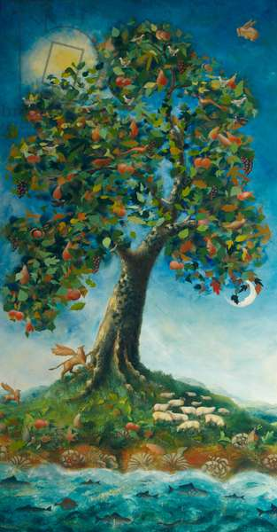 Tree of Life, 1995 (oil on canvas)