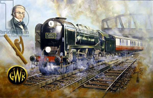 Isambard Kingdom Brunel (oil on canvas)