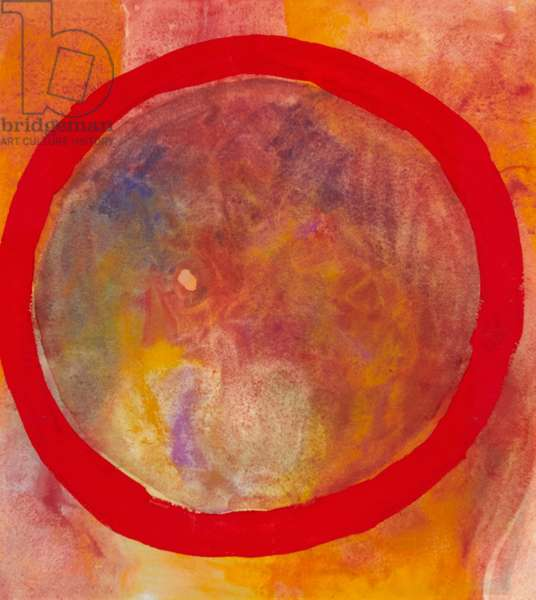 Meditation No.5, 1991 (pigment & gouache on paper)