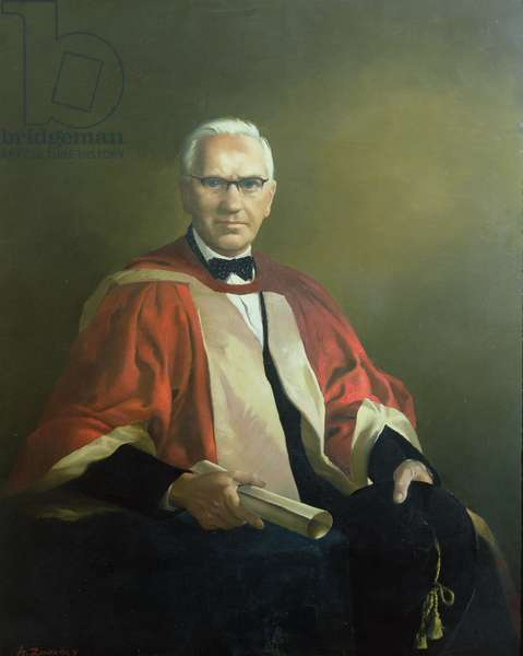Alexander Fleming (oil on canvas)