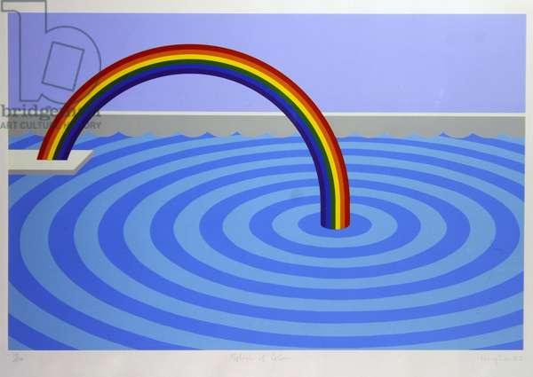 Splash of Colour (screenprint)