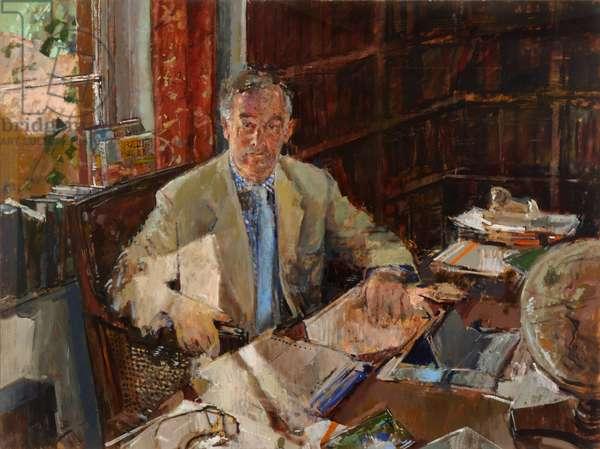 Sir Christopher Bland (oil on canvas)