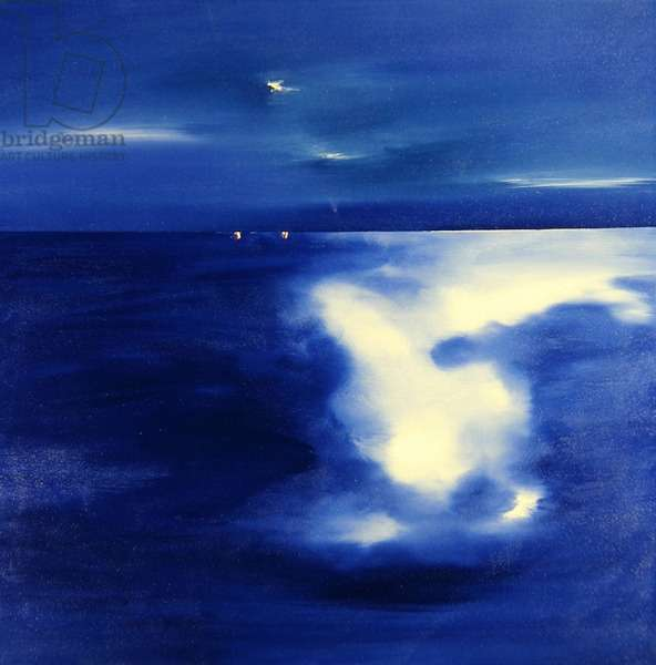 Dog Star Reef (oil on canvas)
