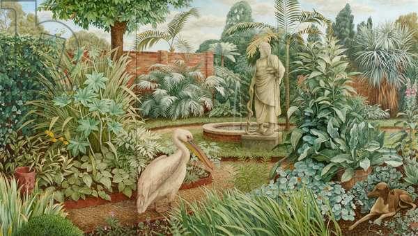 The Physic Garden, 1985 (oil on canvas)