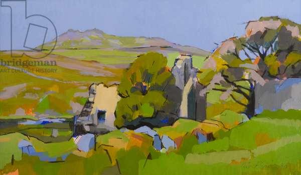 Bread Oven, Bodmin Moor, 1991 (oil on canvas)