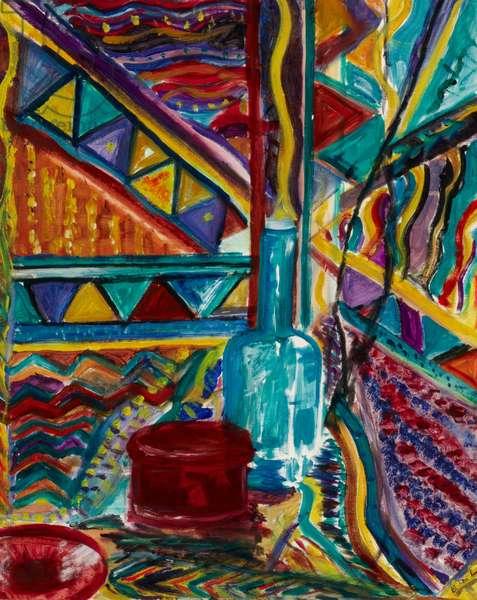 Maori Influence, 1995 (oil on canvas)