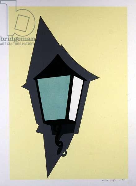 Lantern (screenprint)