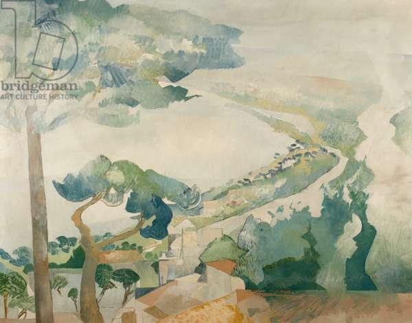 Lake Bolsena 2 (oil on canvas)