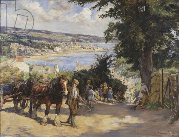 On Paul Hill, 1922 (oil on canvas)