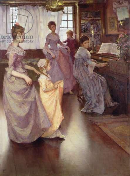 The Minuet, 1892