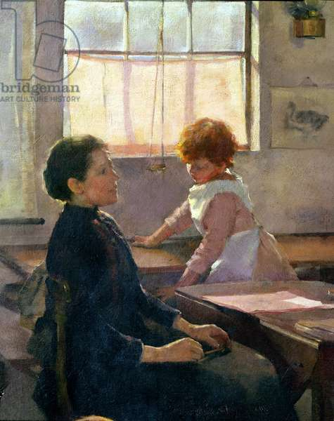 School is Out, 1889 (detail of 77650)