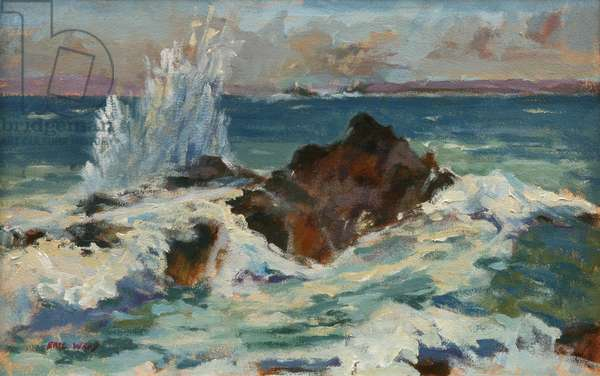 Clodgy Point, St Ives, 1994 (oil on canvas)