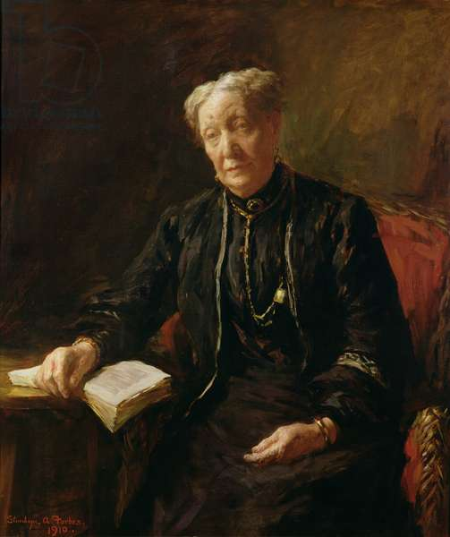 Mrs Forbes, the artist's mother, 1910