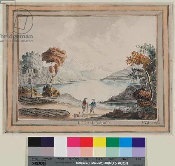 Loch Lomond No.2 (w/c on paper)